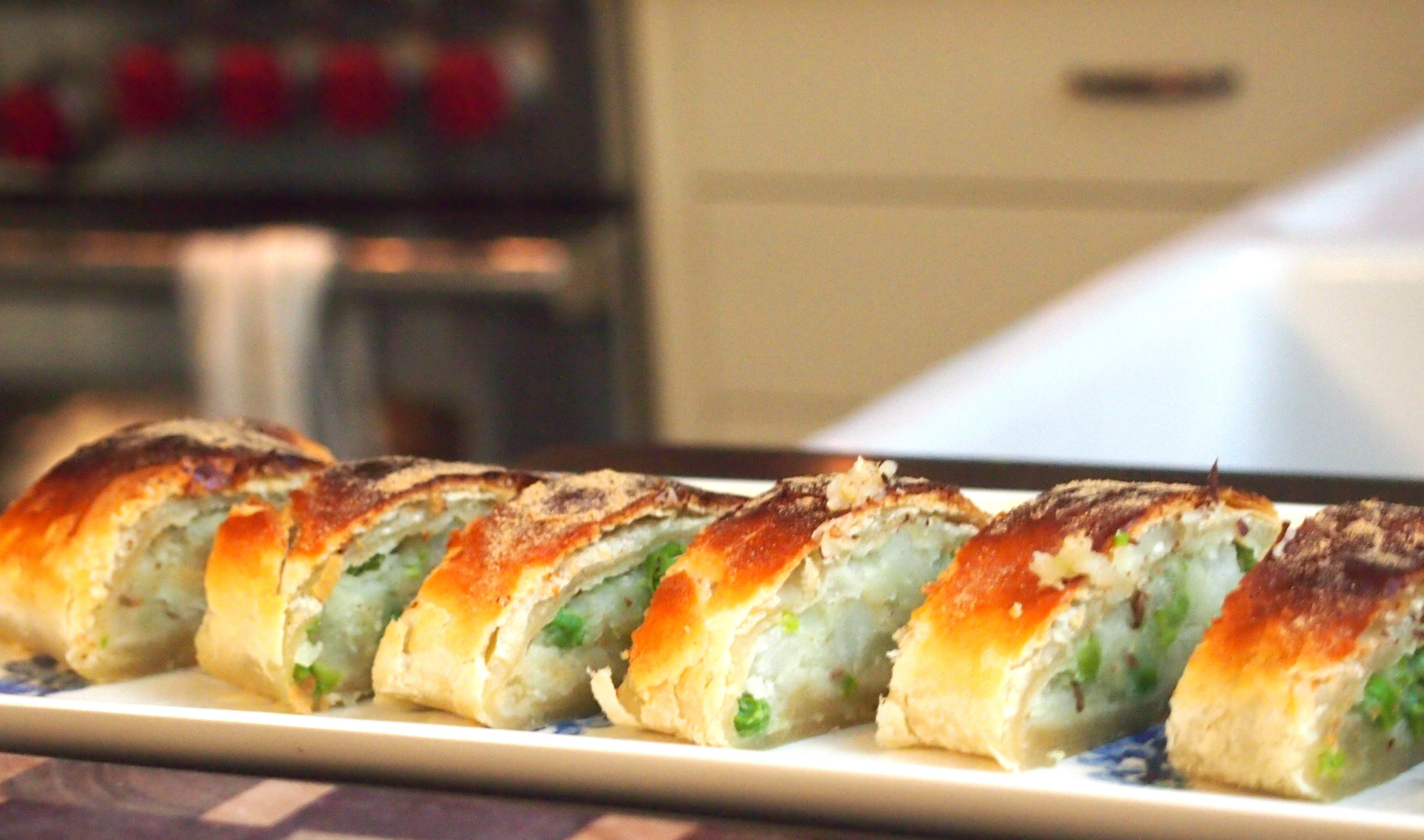 Working Mom's Puff Pastry Samosa Loaf — hungry desi